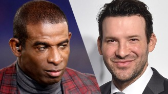 Deion Sanders Went HAM On Tony Romo After Romo Dissed Sanders For Being A Terrible Tackler