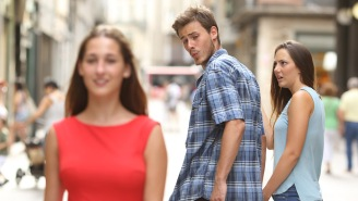Some Mad Genius Wrote A Backstory For The Distracted Boyfriend Meme And It's Absolutely Riveting
