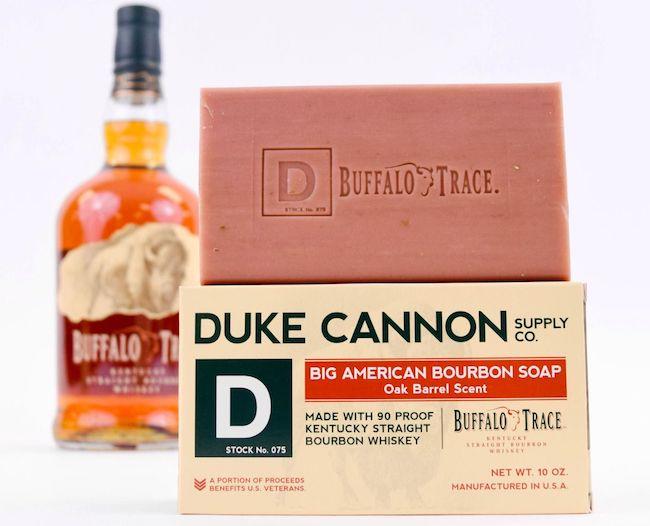 Duke Cannon Bourbon Soap New