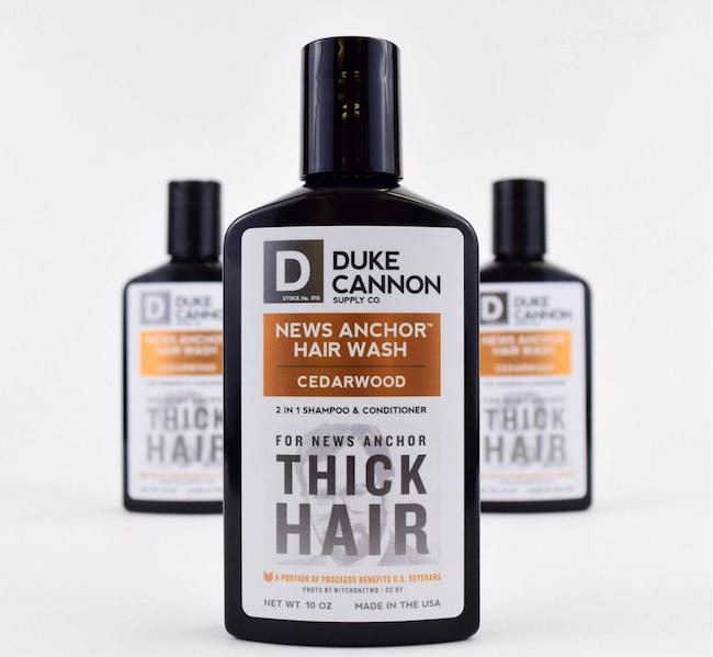 Duke Cannon News Anchor Hair