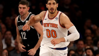 Knicks Center Enes Kanter Should Be Thrown In Prison For This Halloween Stunt He Pulled On Trick-Or-Treaters
