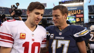 Current And Ex-Giants Beefing On Twitter About Eli Manning, Meanwhile, Philip Rivers Calls It 'Pathetic'