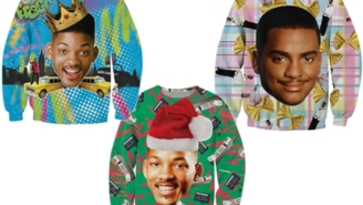 Check Out These Rad Fresh Prince Sweatshirts For Your Next Ugly Sweater Party