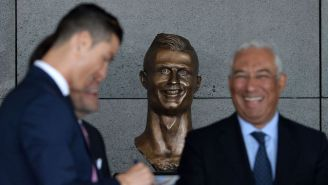 The Famously Bad Statue Of Cristiano Ronaldo At A Portuguese Airport Has Gotten A Makeover