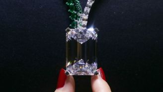 This Flawless 163-Carat Diamond Sold For $34 Million And Experts Think The Price Was Low