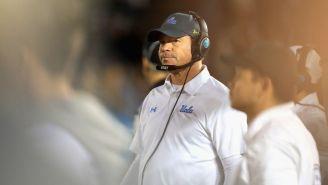 UCLA Fired Head Coach Jim Mora On His Birthday