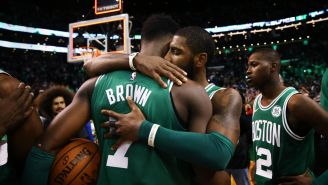An Emotional Jaylen Brown Speaks About Playing Game The Day After Learning That His Best Friend Had Died