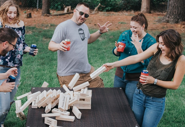 Giant Jenga Set | Giant Jenga Bar Game | Jumbo Jenga Game Set