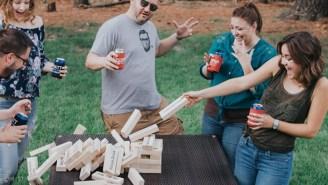 Jumbo Beer Blocks Is Bigger, Better, Boozier, Badass-er Jenga