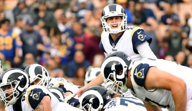 jared goff audibles