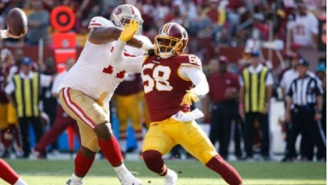 Video Shows Redskins LB Junior Galette Getting Chased And Tased By Police