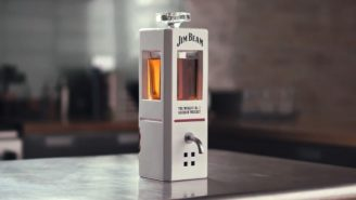 Jim Beam Is Selling A Smart Decanter That Pours Bourbon On Command Because Technology Is Awesome