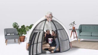 Just In Time For The Holidays, You Can Buy KFC's 'Escape Pod' That Blocks Internet For $10,000
