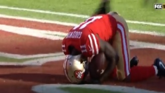 An Emotional Marquise Goodwin Reveals That He Played Game Hours After Losing Baby