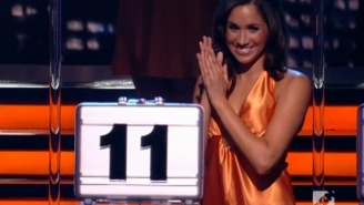 Soon-To-Be Princess Of England, Meghan Markle, Was Once A Human Mannequin On 'Deal Or No Deal'