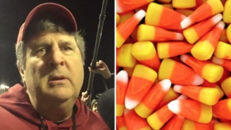 Washington State Football Coach Mike Leach Perfectly Sums Up The Demon Spawn That Is Candy Corn