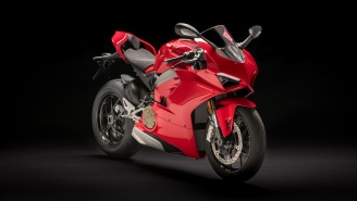 Feast Your Eyes Upon The Ducati V4 Panigale, The World's Most Powerful Street-Legal Sports Bike