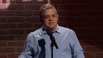 Patton Oswalt Does A Stand-Up Rendition Of Mike Huckabee's Twitter Jokes