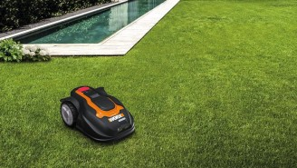 This Robotic Lawn Mower Will Mow Your Yard While You Drink Beer In A Hammock — $400 OFF RIGHT NOW!