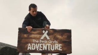 A Bear Grylls Theme Park Is Opening In The United Kingdom