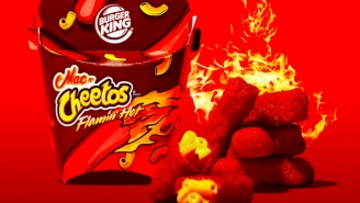 Burger King Is Now Selling FLAMIN' HOT Mac And Cheetos