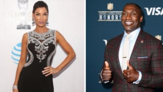 Shannon Sharpe Busts Out The Victory Cigar After Successfully Shooting His Shot With Model Nicole Murphy