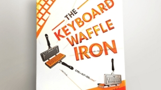The Keyboard Waffle Iron Brings Belgian Waffles Into The 21st Century