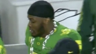 Oregon Gets Mocked By The Internet For Trying To Rip Off Miami's Turnover Chain
