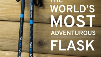 WhiSki Poles Are High-Performance Ski Poles AND The Coolest Flasks On Earth