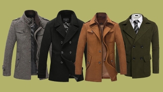 The Pea Coat Is A Winter Fashion Essential – Grab Any Of These For Under $80