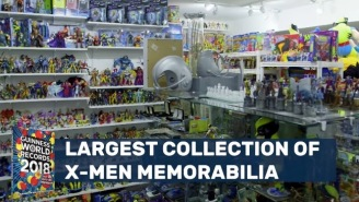 This Dude Has The World's Largest Collection Of X-Men Memorabilia, Over 16,000 Items