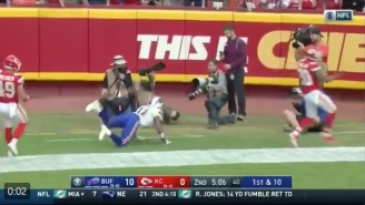 Bills WR Zay Jones Baffles The Internet After Literally Levitating To His Feet After Incompletion