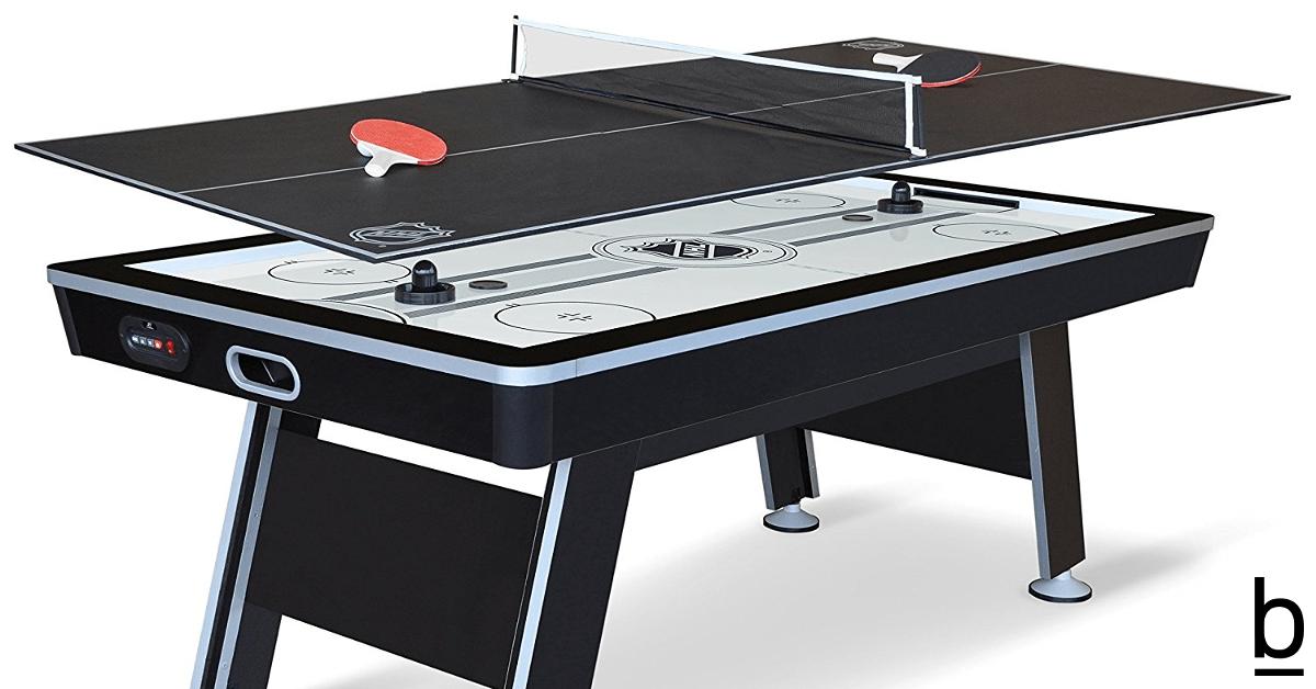 air hockey ping pong