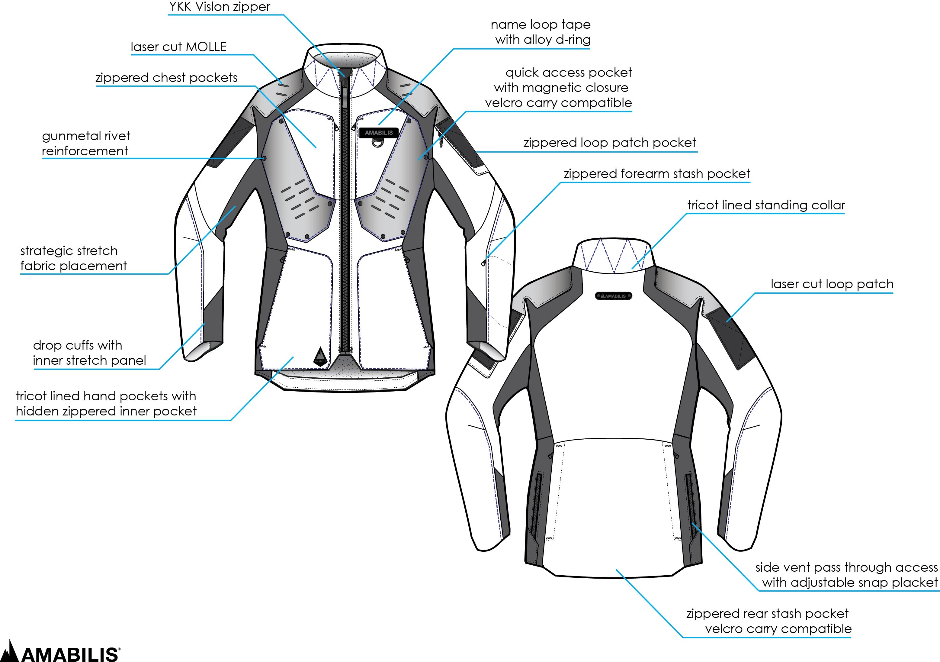 amabilis responder jacket