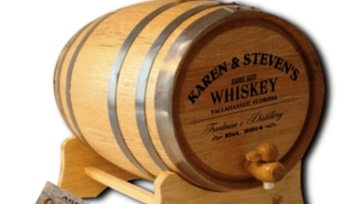Make Your Own Barrel Aged Whiskey With A Customized American Oak Aging Barrel