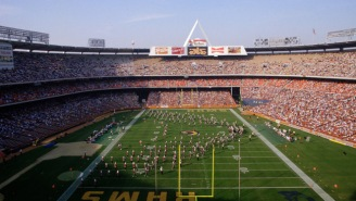 The Los Angeles Angels Turned Their Stadium Back Into A Football Field So The Eagles Can Practice There