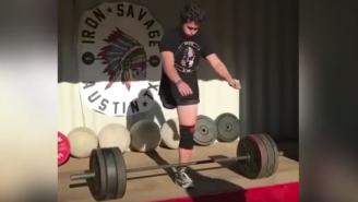 Amputee Army Veteran With Only One Leg Deadlifts 275-Pounds And Wow Just Wow