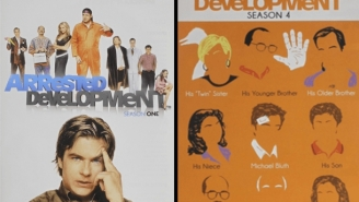 On the next, Arrested Development… You Buy Every Episode Of Arrested Development On DVD For $39.99 (50% Off)