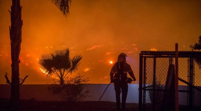 Astronauts NASA Photos California Wildfires Space