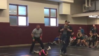 Jim Ross Audio Of Baby Brother Crashing His Sister's Wrestling Match Is Perfect