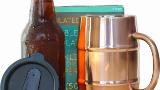 Keep Your Beer *Cold, Cold, Cold, Cold, Cold* With A Double-Walled Copper Beer