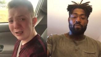 Heartbreaking Video Of Kid Getting Bullied Goes Viral, Delanie Walker Invites Him To Titans Game