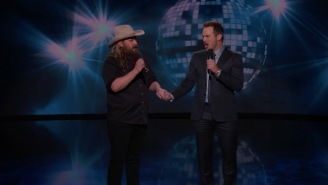 Chris Stapleton And Chris Pratt Sing '(I've Had) The Time Of My Life' Because The Bromance Is Real