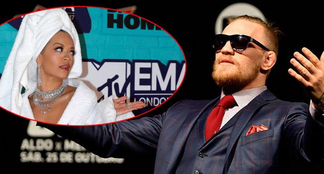 Conor McGregor Shouted Out Rita Ora Fiancee