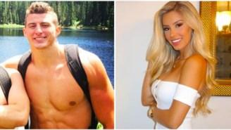 ESPN Sideline Reporter Sara Cardona Is Dating Falcons Tight End Eric Saubert