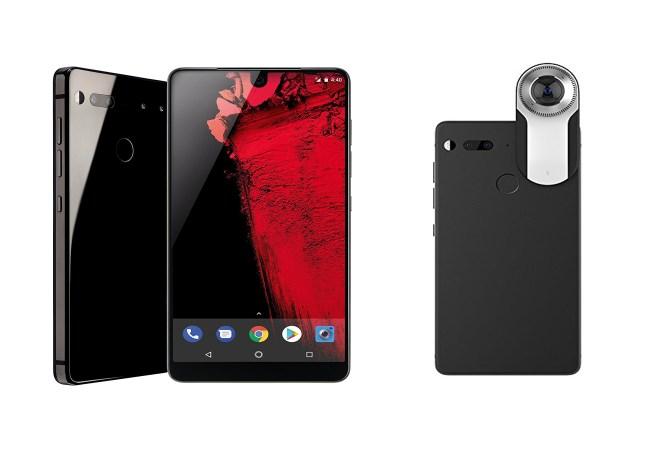 Essential Phone And 360 Camera