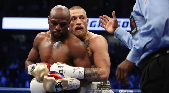 Floyd Mayweather Carried Conor McGregor Fight
