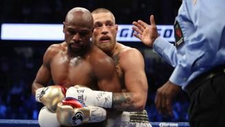 Floyd Mayweather Rips Oscar De La Hoya, Says He 'Carried' Conor McGregor To Make Fight 'Look Good'