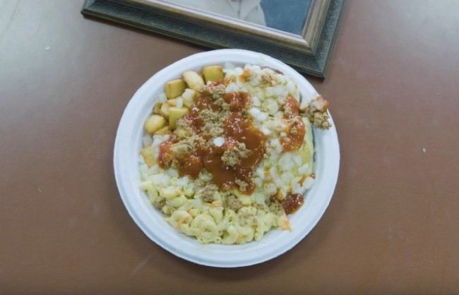 garbage plate Nick Tahou Hots Rochester