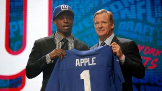 The Giants Suspend Eli Apple For The Year After Telling Reporters 'I Gotta Take A Sh*t'
